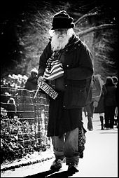Homeless Veteran in New York (Wikipedia)