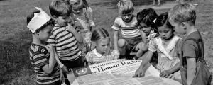 Children Ponder the UDHR