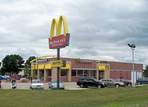 McDonald's, One of the Largest Recognizable Corporations in the World (credit Wikipedia)